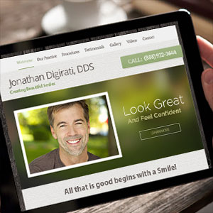 CLICK HERE to learn more about our dental website design services.