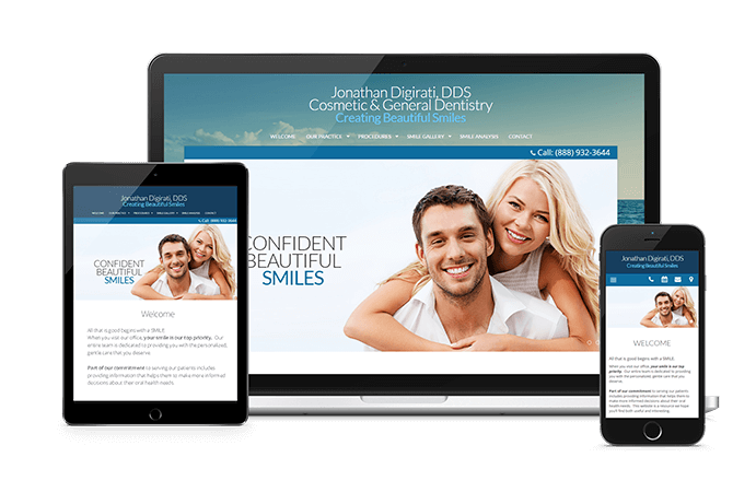 ProSites Websites for Dentists are State-of-the-Art Responsive Designs