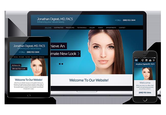 medical website design: premium websites for doctors, Skeleton