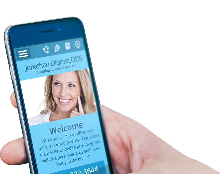 More than ever, websites for dentists are viewed on mobile devices