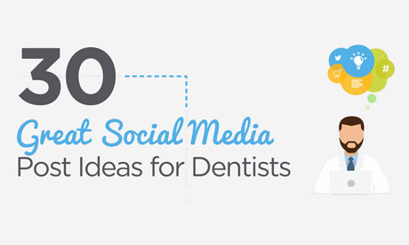 30 Great Social Media Ideas for Dentists Infographic