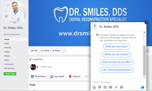 social media dental marketing