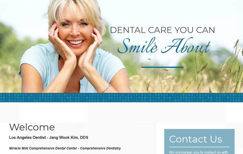 Miracle Mile Dental Center - Top Dentist Website of 2019