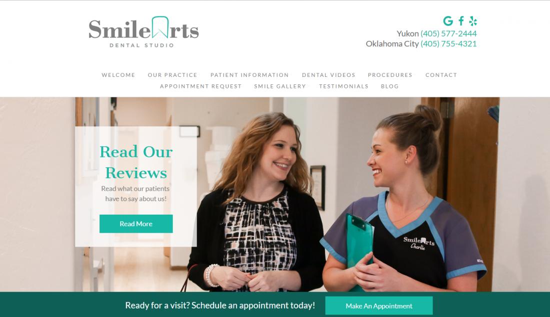 Smile Arts Dental Studio - Top Dental Website of 2019